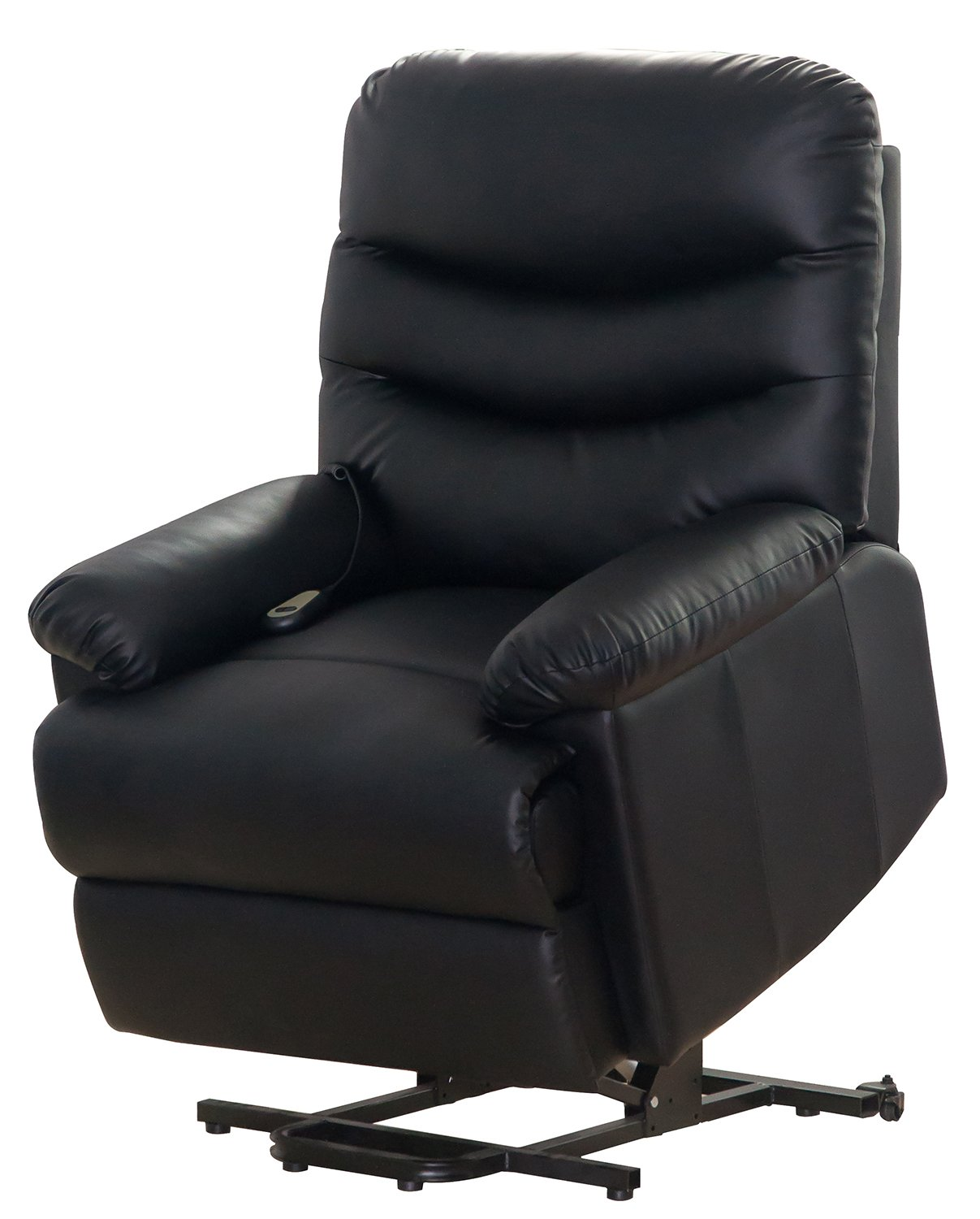 Amazon.com Merax Black PU Leather Power Recliner and Lift Chair Lifting Recliner Kitchen u0026 Dining  sc 1 st  Amazon.com & Amazon.com: Merax Black PU Leather Power Recliner and Lift Chair ... islam-shia.org