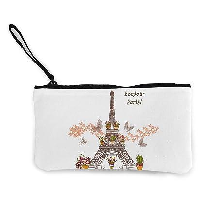 TTmom Carteras de Mujer, Monedero, Bonjour Paris Eiffel ...