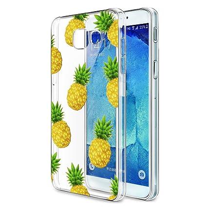 Eouine Funda Samsung Galaxy A3 2017, Cárcasa Silicona 3D Transparente con Dibujos Diseño Suave Gel TPU [Antigolpes] de Protector Bumper Case Cover ...