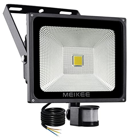 Meikee 50w motion sensor light super bright security light high meikee 50w motion sensor light super bright security light high output 3950lumen 150w aloadofball Choice Image