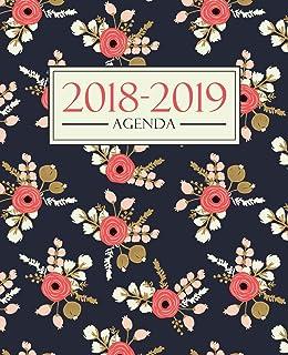 Amazon.com: Agenda escolar 2018-2019: 190 x 235 mm: Agenda ...