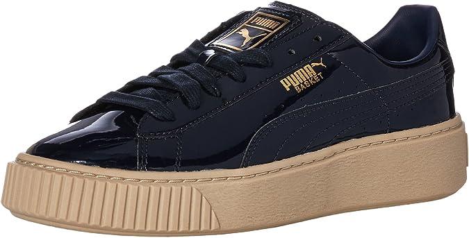 Basket Platform Patent Wn Sneaker