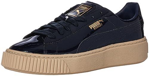 a285da44e83 Puma Women s s Basket Platform Patent Wn Sneaker  Amazon.co.uk ...