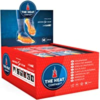 THE HEAT COMPANY Sohlenwärmer - EXTRA WARM - Wärmesohlen - Fußwärmer - 8 Stunden warme Füße - luftaktiviert - rein natürlich - Größe MEDIUM: 39-41 - 5 oder 30 Paar