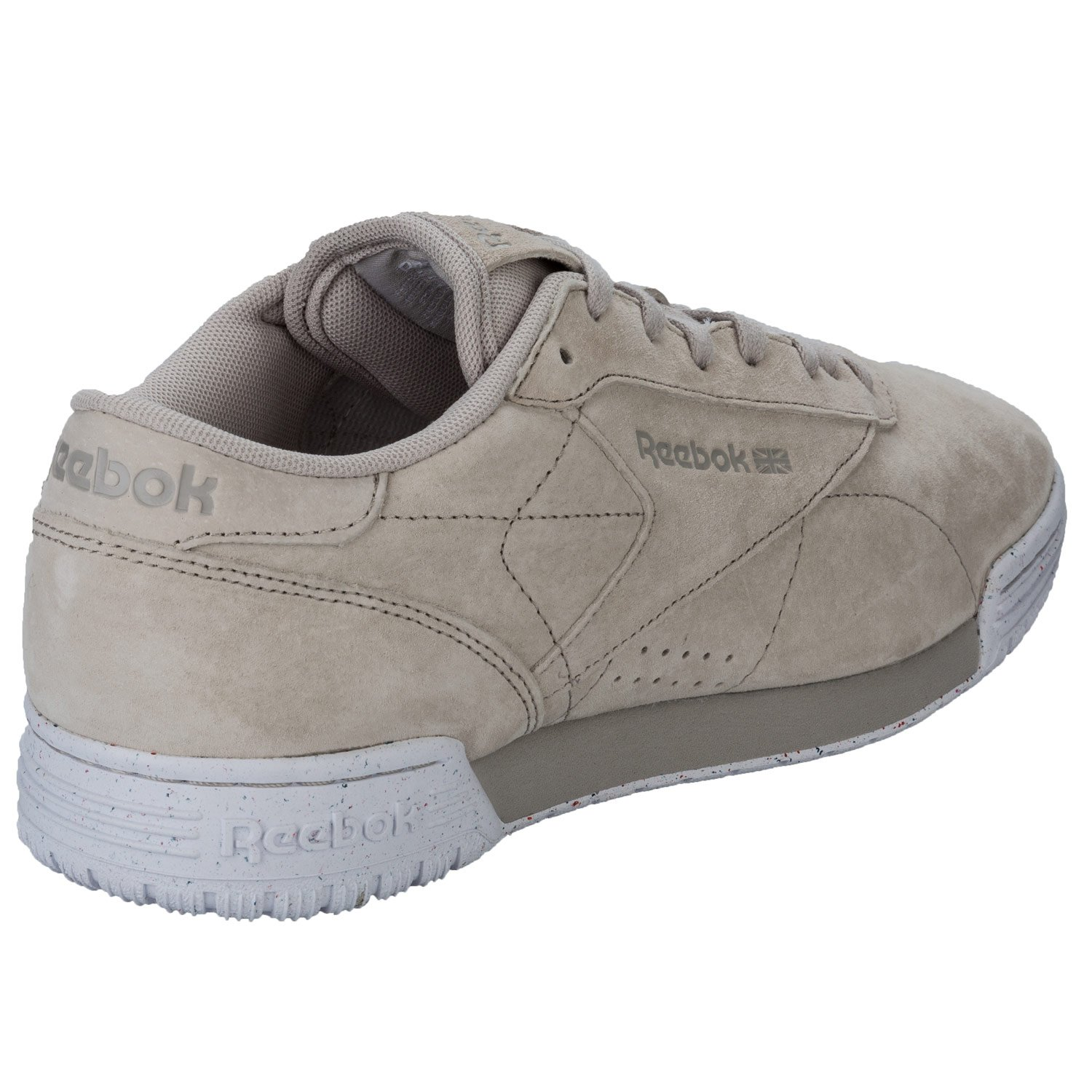 Reebok Mens Exofit Lo Clean Pel Trainers in Sand Stone: Amazon.co.uk: Shoes  & Bags