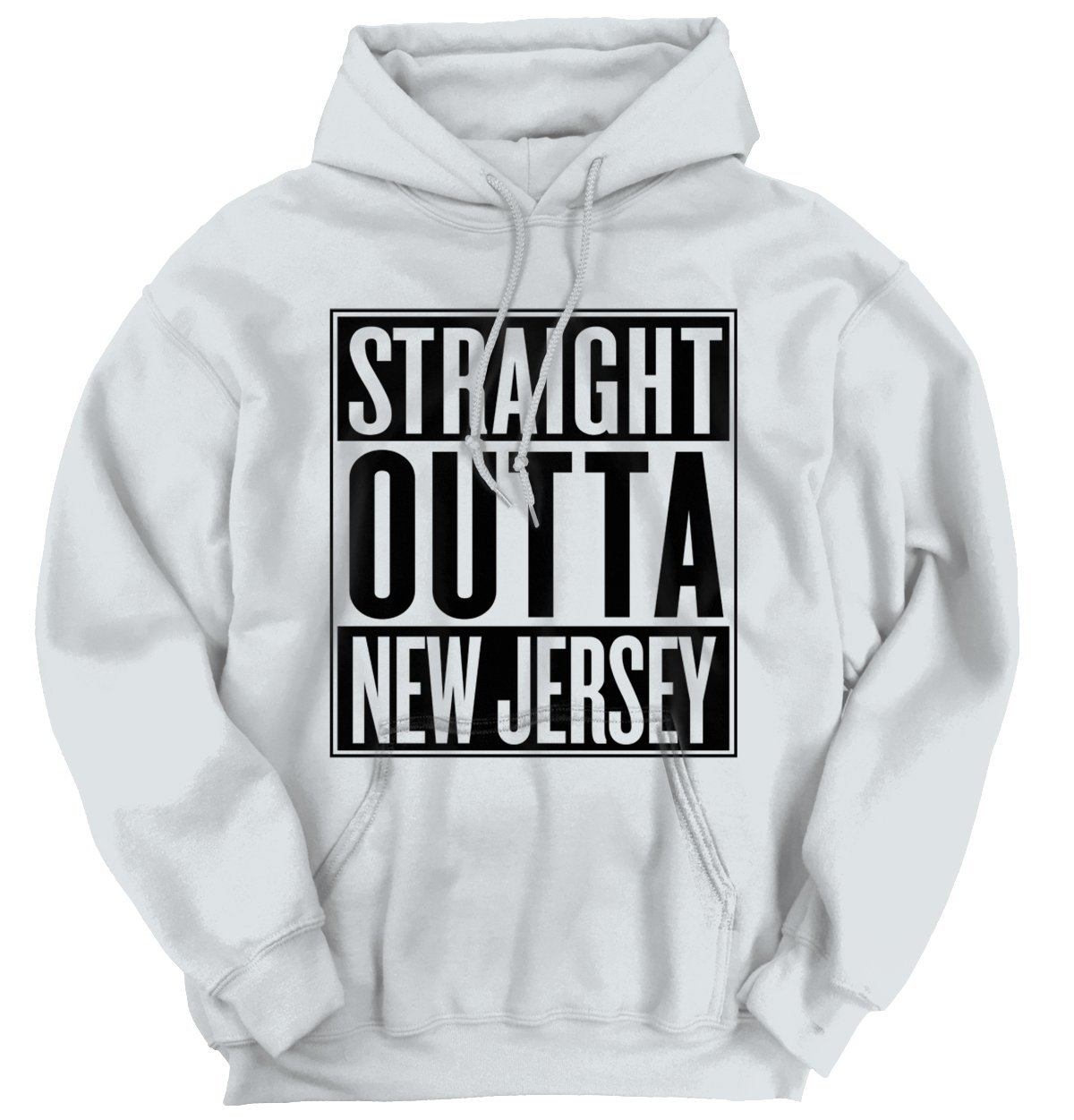 Straight Outta New Jersey State Funny Movie T Shirt Gift Ideas Hoodie Sweatshirt