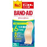 BAND-AID(バンドエイド) 救急絆創膏 快適プラス スタンダードサイズ 25枚