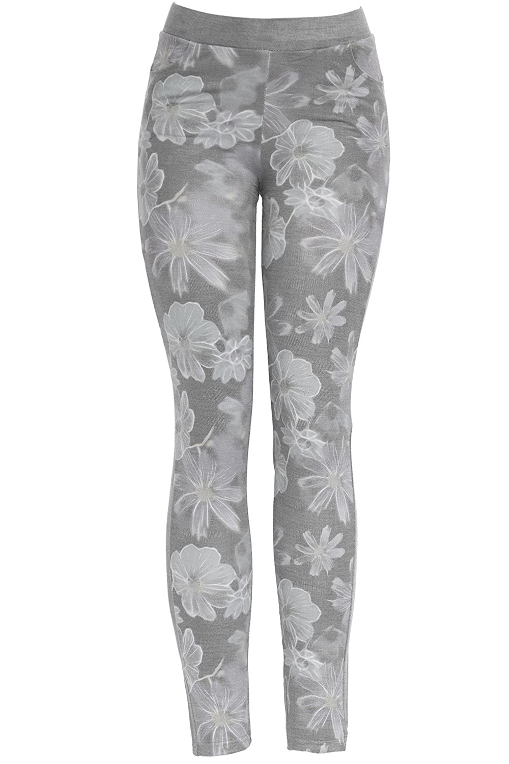KMystic Women's Pull On Stretch Jeggings Pants