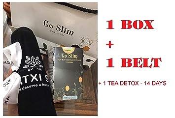 Combo Go Slim + 1 Box Tea Golea. Detox (Use 14 Days) -