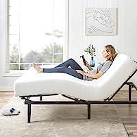 Zinus Jared Adjustable Bed Frame Base