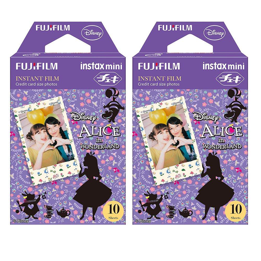 Fujifilm Instax Alice in Wonderland Film Pack Instant Print Mini Cameras 2 Pack 20 Sheets