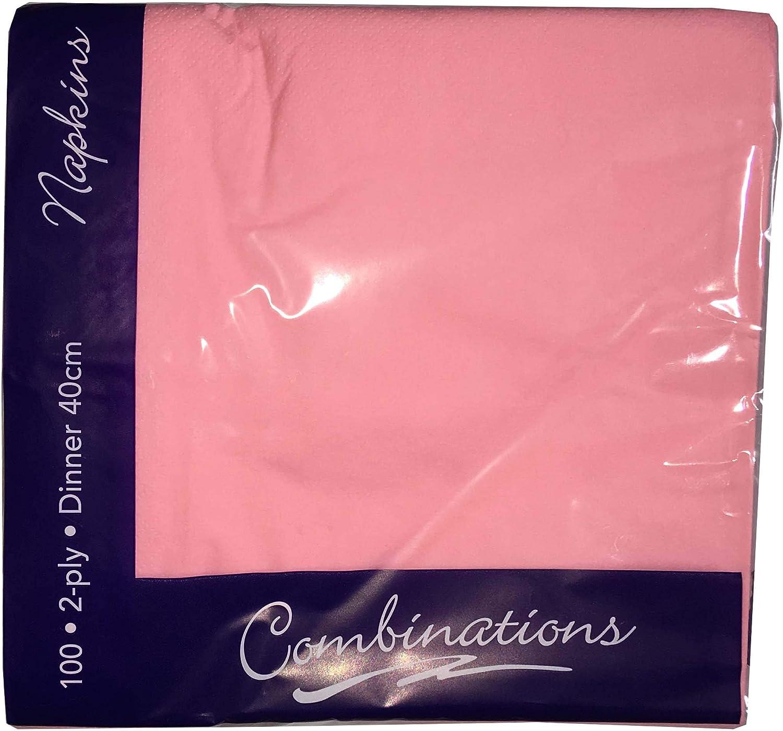 Black Tezraftaar/® 100 40 cm X 40 cm 2-Ply Napkins Soft Paper Napkins Tableware Party Supplies Celebration