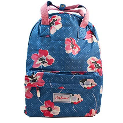 acdf38448d432 Cath Kidston Backpack Poppy Spot Light Navy Colour: Amazon.co.uk ...