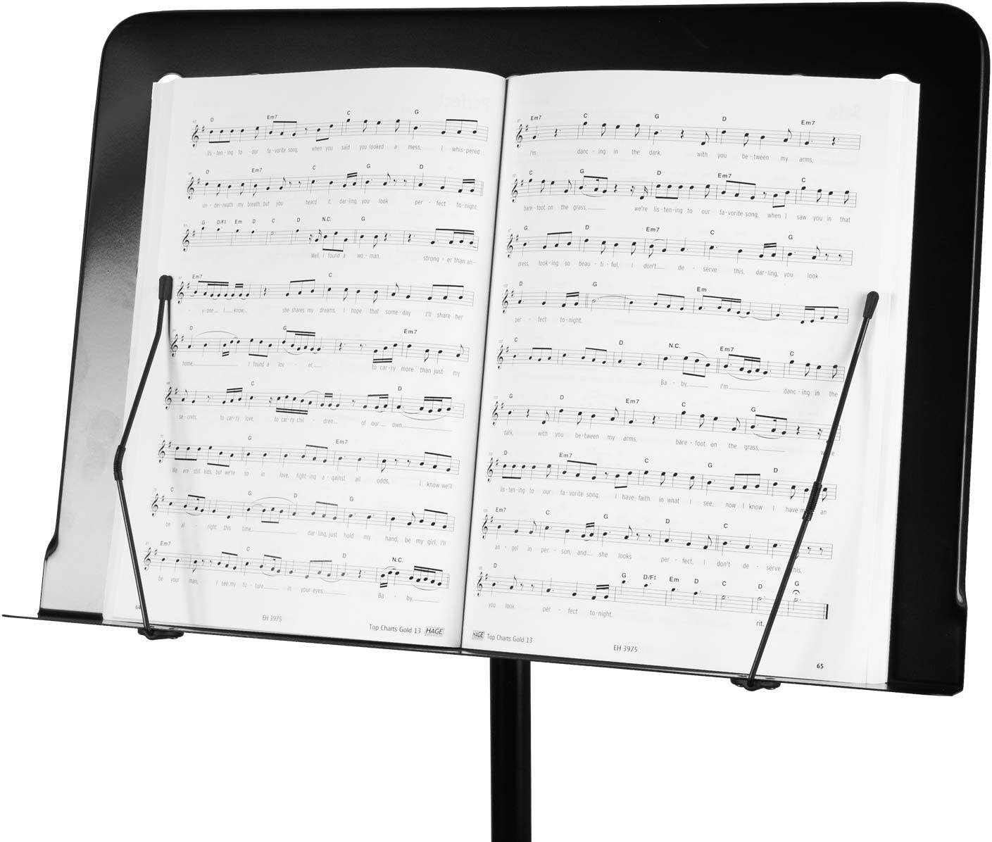 CASCHA Atril de orquesta, plegable, altura regulable: Amazon.es ...