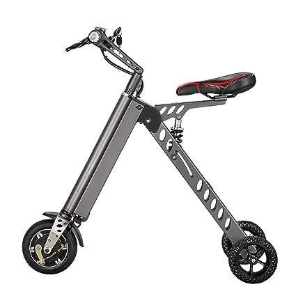 Kaito 3 Wheel Folding Electric Bike Foldable Aircraft Aluminum Alloy Bicycle