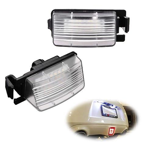 Amazon.com: iJDMTOY OEM-Fit 3W Full LED License Plate Light Kit For