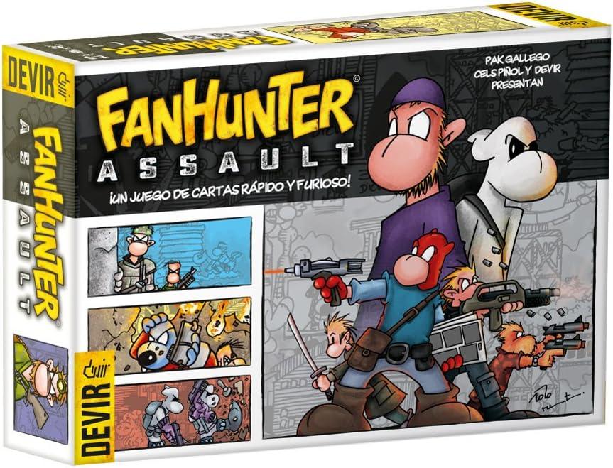 Devir BGFHAS. Juego de cartas Fanhunter Assault. Edicion en castellano: Amazon.es: Juguetes y juegos