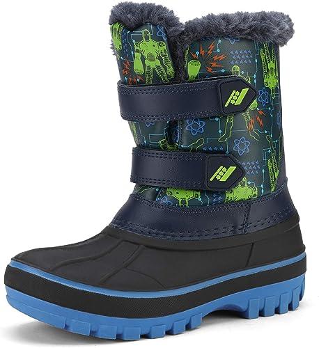 Girls Winter Boots Snow Long Boots Toddler//Little//Big Kid
