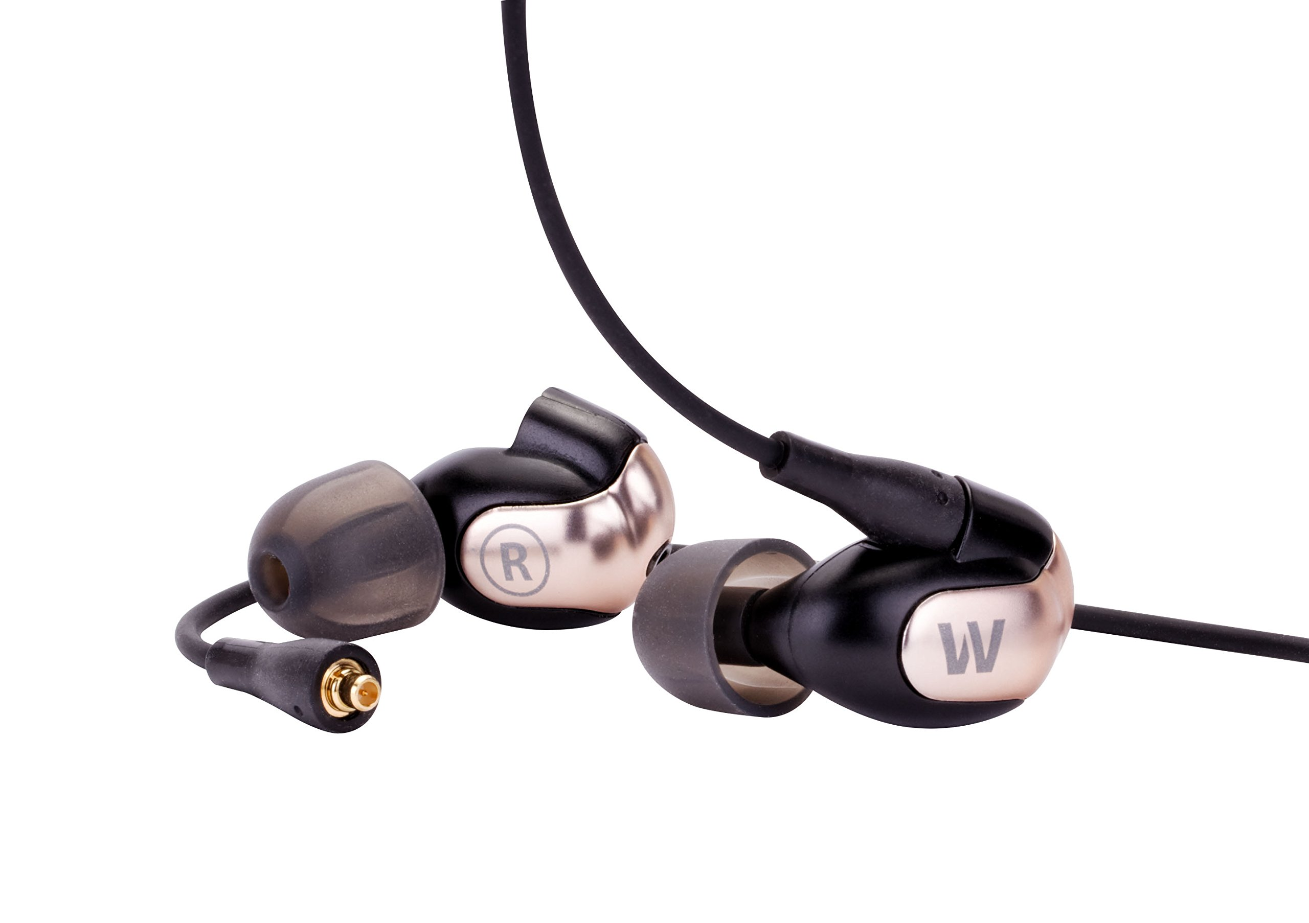 Westone W60 Six-Driver True-Fit Earphones with Westone Bluetooth Cable and 3 Button MFi Cable with Microphone by Westone