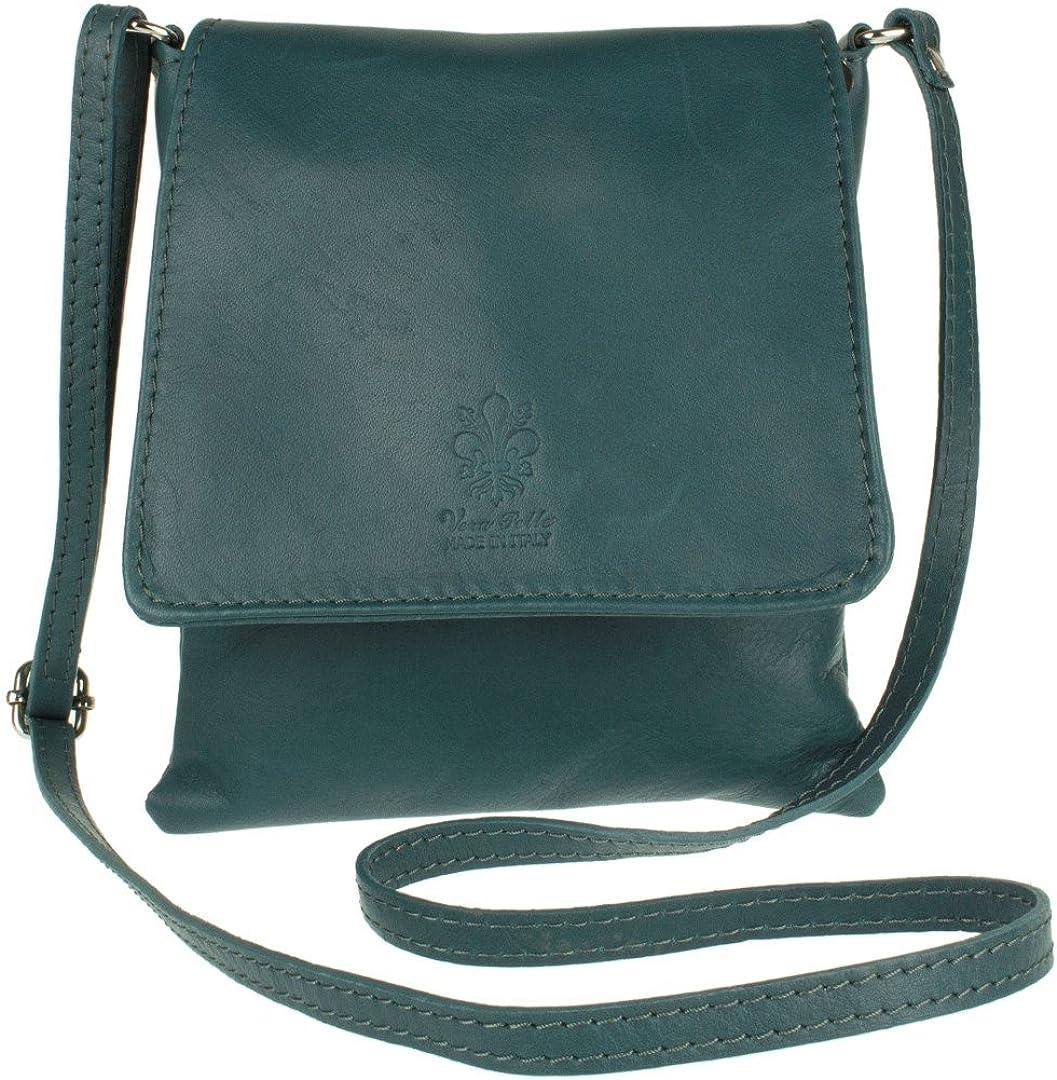 Girly Handbags Genuine Italian Leather Shoulder Bag Small Cross Body Messenger Soft Leather Fashion