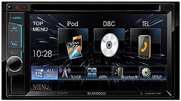 "Kenwood DDX4015BT - Reproductor multimedia con pantalla táctil de 6.2"" WVGA para coche (radio"