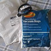9 Type Y bags /& 2 38528-033 belts Hoover Part#4010100Y