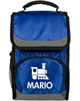 Mario Kids Cute Train Lunch Bag: Port Authority Flap Lunch Cooler Bag