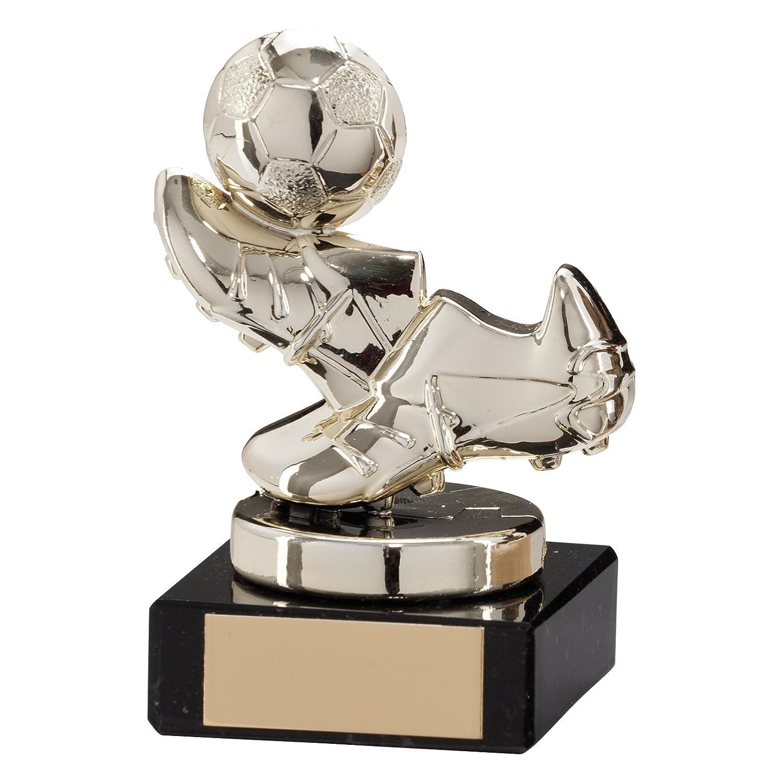 Trofeo de Agility con forma de botas de fútbol y pelota ...