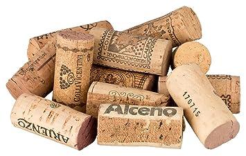 Gut bekannt 100 vor-geschnittene, gebrauchte Weinkorken zum Pinnwand-Bau VB18