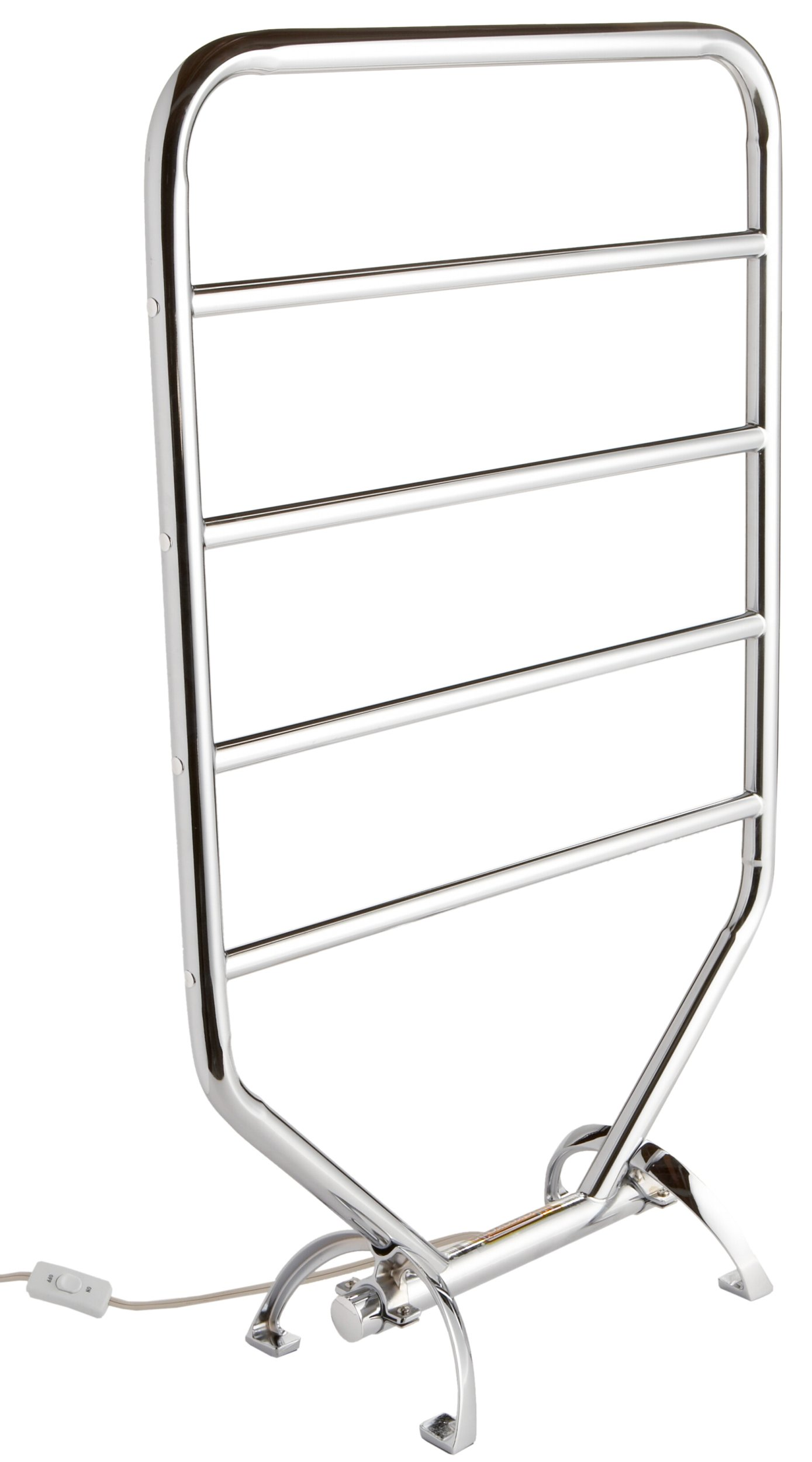 Warmrails RTC Mid Size Wall Mounted or Floor Standing Towel Warmer, 34-Inch, Chrome Finish by Warmrails