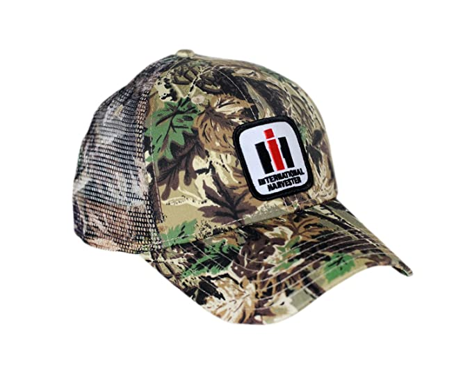 a08e851d Image Unavailable. Image not available for. Color: J&D Productions International  Harvester IH Logo Hat, Camouflage Mesh
