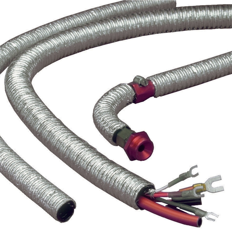 Silver 0.75 x 36 Design Engineering 010406 Cool-Tube Heat Reflective Sleeve