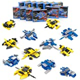 Space War Battle Vehicle Ball 12 in 1,Mini Building Blocks for Boys Girls,DIY Transformer,Birthday Gifts,Easter Gifts Toys - 12 Styles