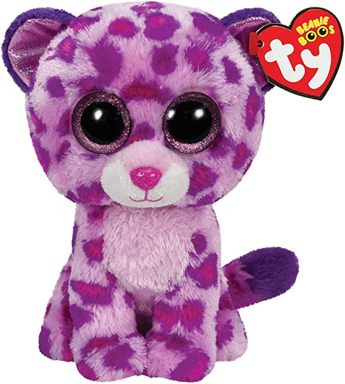 Ty - Glamour, Peluche Leopardo, 15 cm, Color Rosa (36085TY): Amazon.es: Juguetes y juegos