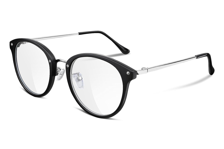 FEISEDY Vintage Round Women Optical Eyewear Non Prescriptio Glasses Frame B2260 B2260-002-D
