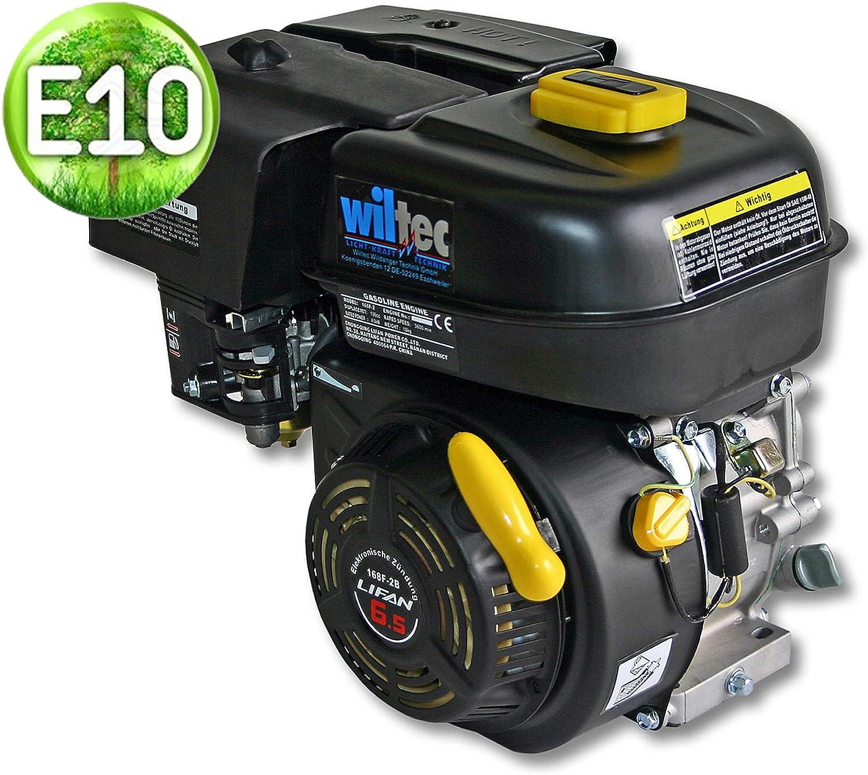 WilTec LIFAN 168 Motor de Gasolina 3,4 kW (6,5PS) Motor de 19,05mm para Karts