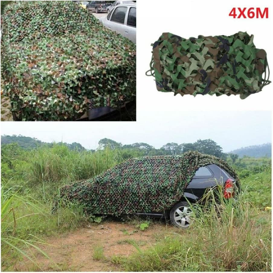 Woodland Shooting Hide Army Camouflage Net Hunting Cover Camo Netting 20X13 FT