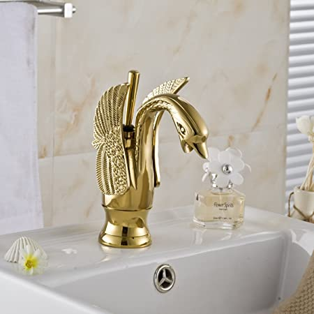 Rozin Chrome Finish Bathroom 2 Konbs Waterfall Spout Basin Faucet Widespread Deck Mounted Sink Mixing Tap Rozinsanitary R8082905
