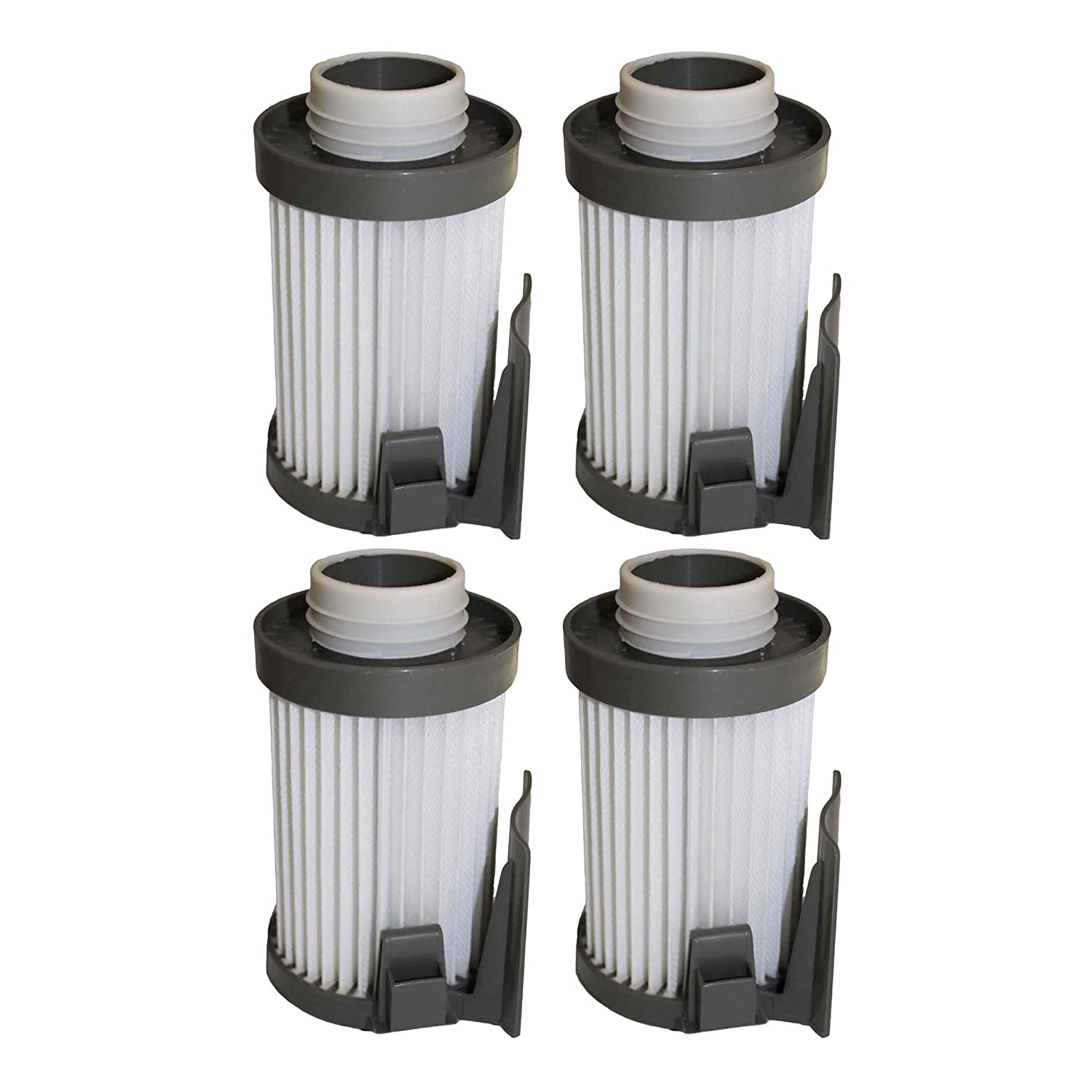 4 Eureka DCF10, DCF14 Washable Dust Cup Filters, Compare to Part # 62396-2, Designed & Engineered by Crucial Vacuum DCF-10 DCF-14