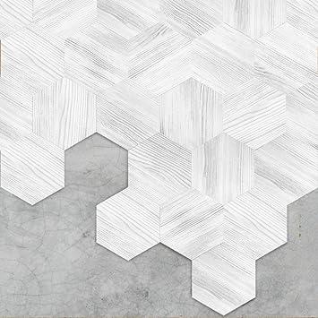 Apsoonsell Backsplash Tile Stickers Kitchen Bathroom Decoration Vinyl Tiles Waterproof Peel And Stick Tile