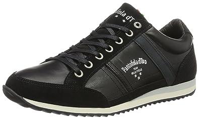 Pantofola D'oro Imola Romagna Uomo Low, Zapatillas para Hombre, Schwarz (Black), 45 EU