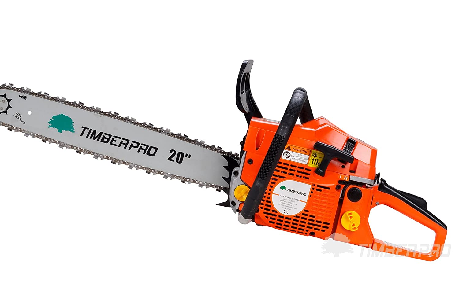 Timberpro 58cc 20 Petrol Chainsaw With 2 Chains Carry Bag And Husqvarna 325 Engine Diagram Accessories Diy Tools