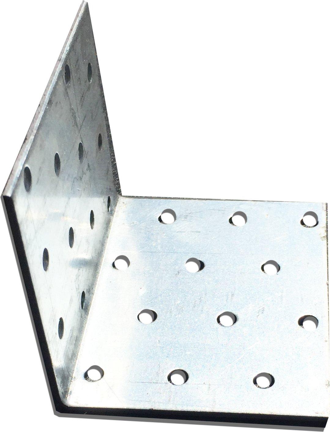 15 pcs. 90 Grado Derecho á ngulo conector Corner Tirantes 60 x 60 x 100 mm OMIdeas