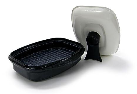Amazon.com: microhearth sartén parrilla para cocinar en ...