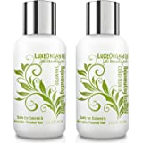 LuxeOrganix Moroccan Argan Oil Shampoo and Conditioner - Safe for Color-Treated, Keratin Treated Hair - Sulfate Free