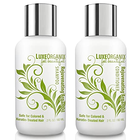 Review LuxeOrganix Travel Shampoo and
