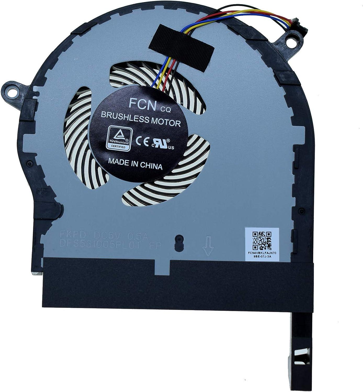 CPU Cooling Fan DFS531005PLOT Asus ROG TUF Gaming FX504