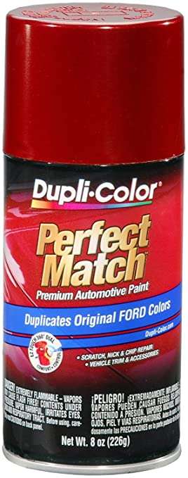 Amazon.com: Dupli-Color BFM0344 Toreador Red Metallic Ford Exact ...