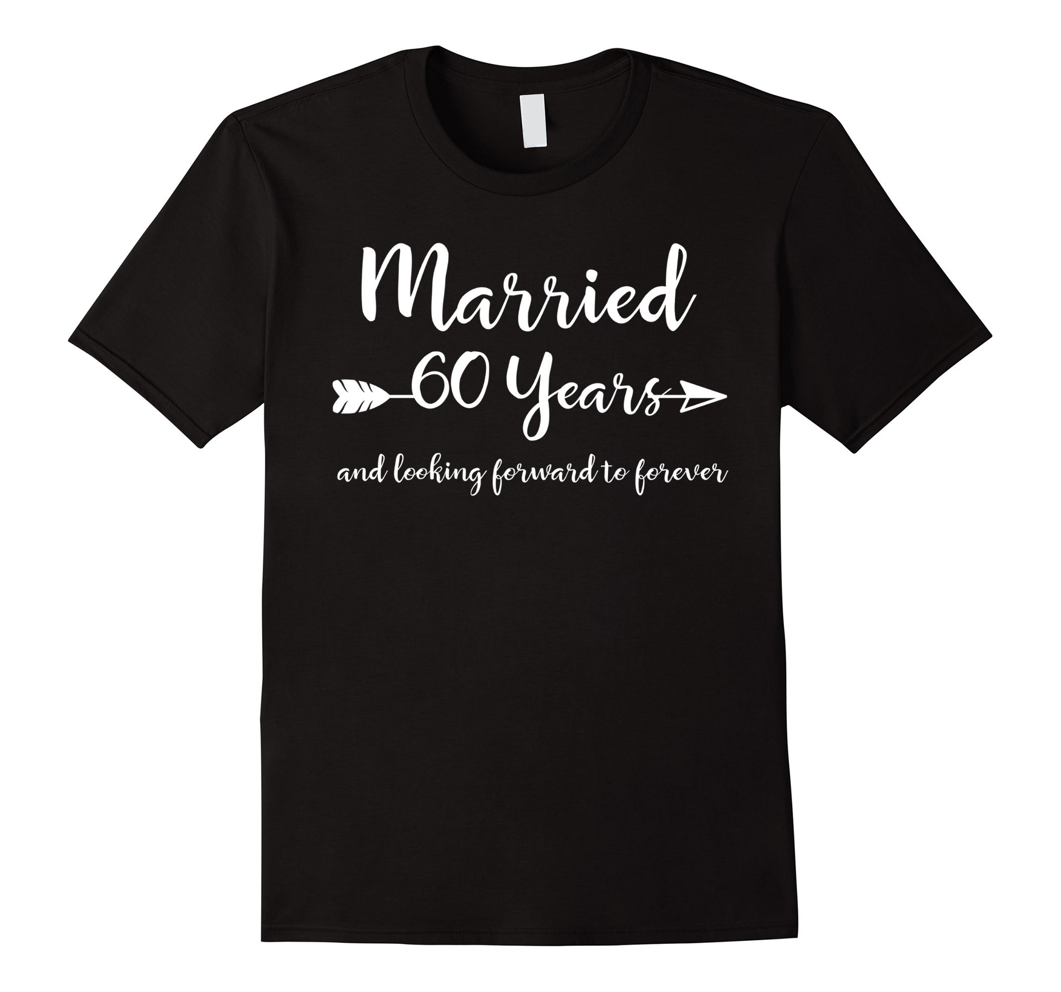 60th Wedding Anniversary Gift T-Shirt for Him Her Couples