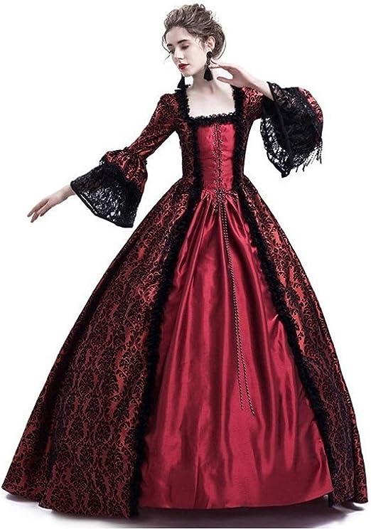 Gerzely Traje Divertido Disfraz, Medieval Noble Reina Herramienta ...